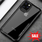 Shockproof Clear Tpu Bumper Hard Back Case For Iphone 11/11 Pro Max Hybrid Cover