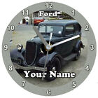 CD Clock Cars Vehicles Transport  Free Battery Free Gift box Time Xmas Birthday