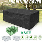 Waterproof Patio Garden Furniture Cover Outdoor Large Rattan Table Protector Us