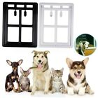 Easy Installed Pet Cat Small Dog Door Window Flap Exercise Freely Anti  P