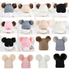 Infant Fashion Cute Baby Kids Toddler Knit Sweater Cap Winter Warm Hat Boy Girl