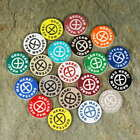 *NEW* Custom Geocaching Swag Prize Tokens / Coins Laser Cut 20 or 50 Pack!