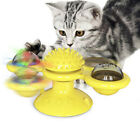 Cat Interactive Windmill Toy Cat Chew Ball Windmill Toothbrush Scratch Gift