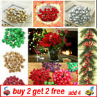 40xmini Christmas Foam Frosted Fruit Artificial Holly Berry Flower Home Decor Cz