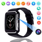 X6 Smart Watch Curved Touch Screen Bluetooth for Android Samsung Huawei MA