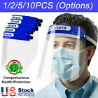 Safety Face Shield Full Face Clear Anti Fog Transparent Work Industry E b h 115