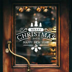 Merry Christmas New Y Home Wall Window Sticker Vinyl Gift Decal Shop Xmas Decor
