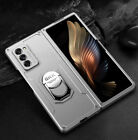 For Samsung Galaxy Z Fold 2 5G Luxury Ring Holder Hybrid Armor Hard Case Cover
