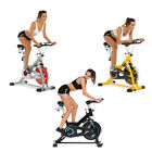 FUNMILY Indoor Cycling Bike - Stationary Exercise Bikes w/ LCD Monitor Comfortab