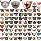 Cat Dog Pig Funny Face Mask0 Protective Covering Washable Reusable Adult Unisex