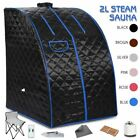 2L Portable Steam Sauna Tent Spa Slimming Loss Weight Full Body Detox Therapy