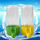 1x Pet Cage Aviary Bird Parrot Budgie Canary Drinker Food Feeder Waterer Clip