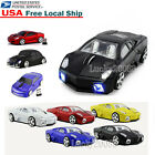 Gift Cordless 2.4Ghz Wireless Optical Car Mouse PC Laptop Mice  USB Receiver US