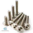 M4 X 50mm Stainless Steel A2 SOCKET BUTTON HEAD FLANGED SCREWS ISO...