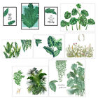 Green Plants Wall Stickers For Bedroom Living Room Diy Art Decal Home Decor