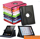 'Leather 360 Rotating Smart Case Cover Apple Ipad 8th 7th Generation 10.2 2020