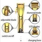 Kemei LED Display Pro Hair Clipper All Metal Body Hair Cutter Electric Trimmer