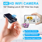 Mini Spy Camera Wireless Wifi IP Security Camcorder HD 4K 1080P DVR Night Vision