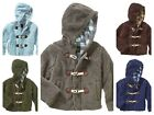 New Xtreme Sherpa Jackets Unisex Hooded Lined zip Green Brown Blue Grey 4, 5, 6