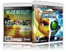 Ratchet and Clank Future: A Crack in Time - Custom PS3 Cover and Case. NO GAME!!
