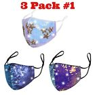 Reusable Glitter SEQUIN Face Mask Washable Adjustable Fashion Bling Face Cover