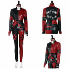 The Suicide Squad Harley Quinn Cosplay Costume Halloween Outfit Carnival Suit