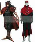 Final Fantasy VII Vincent Valentine Cosplay Costume //