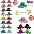 Reversible Flip Octopus Plush Stuffed Toy Soft Animal Home Accessories Doll Gift