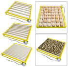 42/56 Egg Hatcher Machine Portable Automatic Incubators 360 Rotary Turner