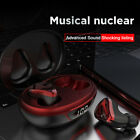 Bluetooth 5.0 Earbuds Wireless Gaming Headsets LED Noise Cancelation Earphones