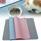 41 X 31cm Non Slip Silicone Pet Feeding Mat Puppy Dog Cat Bowls Food Placemat