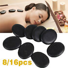 8/16 Pcs Energy Massage Stones Hot Spa Relaxing Kit Therapy Pain Relief Rocks