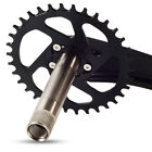 Central axis Crankset Aluminum alloy 9/10/11 speed 32T 34T 36T 38T Mountian bike