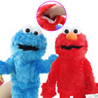 "Hand Puppets 12"" Sesame Street Elmo Cookie Monster Soft Plush Toy Kids Xmas Gift"