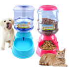 3.5L Large Automatic Pet Food Drink Dispenser Dog Cat Feeder Water Bowl Dish