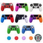 PS4 Silicone Controller Case Protective Skin Cover for PlayStation 4 /Slim/ Pro