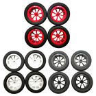 1:16 Upgrade Wheel Rim Wheel Hubs Tires Rc Car Parts For  Wpl D12