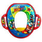 Disney Mickey /Minnie Mouse Soft Potty Seat With Handles 18m+, Toddler