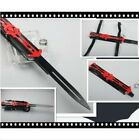 Red Assassin's Creed Hidden Blade Cosplay Alloy 1:1 Sleeve Arrow Catapult Pop