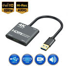 HDMI To USB 3.0 Video Capture Card 1080P HD Recorder Game/Video Live Streaming