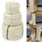 33/66/164ft Natural Sisal Rope for Cat Scratcher Pet Cat Tree Cradle Bed Protect