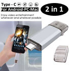 TYPE-C OTG 2 in 1 USB Memory Photo Stick Flash Pen Drive Android Samsung PC Mac