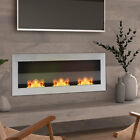 Glass Bio Ethanol Fireplace Wall Recessed Fire Place Insert Biofire Fire Burners
