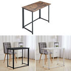 Folding Wood Computer Desk Table Foldable Home Office Computer PC Laptop Compact