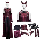 Wanda Vision Scarlet Witch Costume Cosplay Suit Wanda Costume Halloween Suit