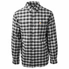 Carhartt Men's Black Rugged Flex Hamilton Plaid L/S Flannel Shirt S02