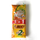 Bic 2 Mens Disposable Shaving Razor TWIN 2 Blade Sensitive Soft Shave