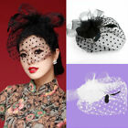 Women Fascinator Veil Ladies Hair Clip fascinator hats for women wedding elegant