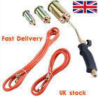 Propane Butane Gas Torch Burner Blow Plumbers Roofers Roofing Brazing +Gas Hose