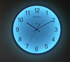 Glowing Wall Clock Living Room Bedroom Led Large Watch Hanging Decors Luminous